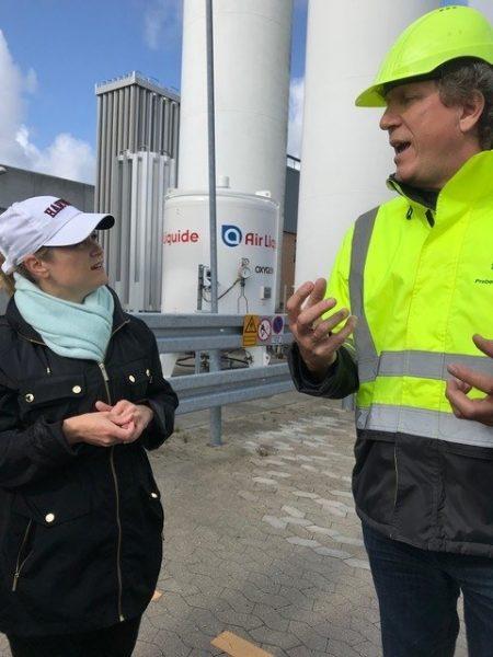 Info exchange at Solrød Biogas Bigadan i SUSTAIN